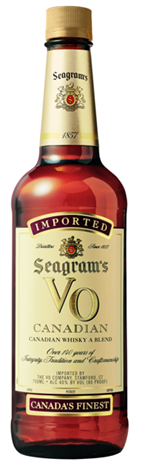 Seagram's Vo Canadian Whiskey